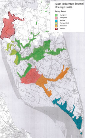 South Holderness Internal Drainage Board map